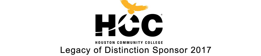Houston Community College - Legacy of Distinction Sponsor 2017