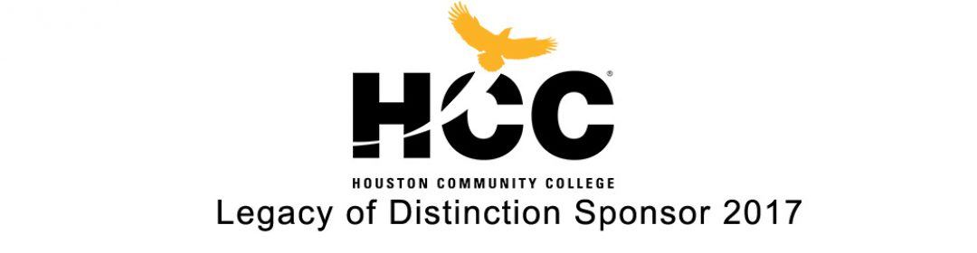 Houston Community College - Legacy of Distinction Sponsor 2017